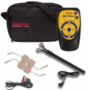 Avazzia Med Sport System Kit Microcurrent, Electro-stimulation Devices Med Sport Device is all Natural, Drug Free, Non-Invasive Microcurrent